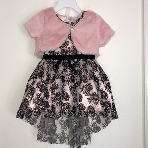 BNWT Little Lass 3 piece dress set
